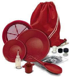 DELUXE GOLD PROSPECTING KIT